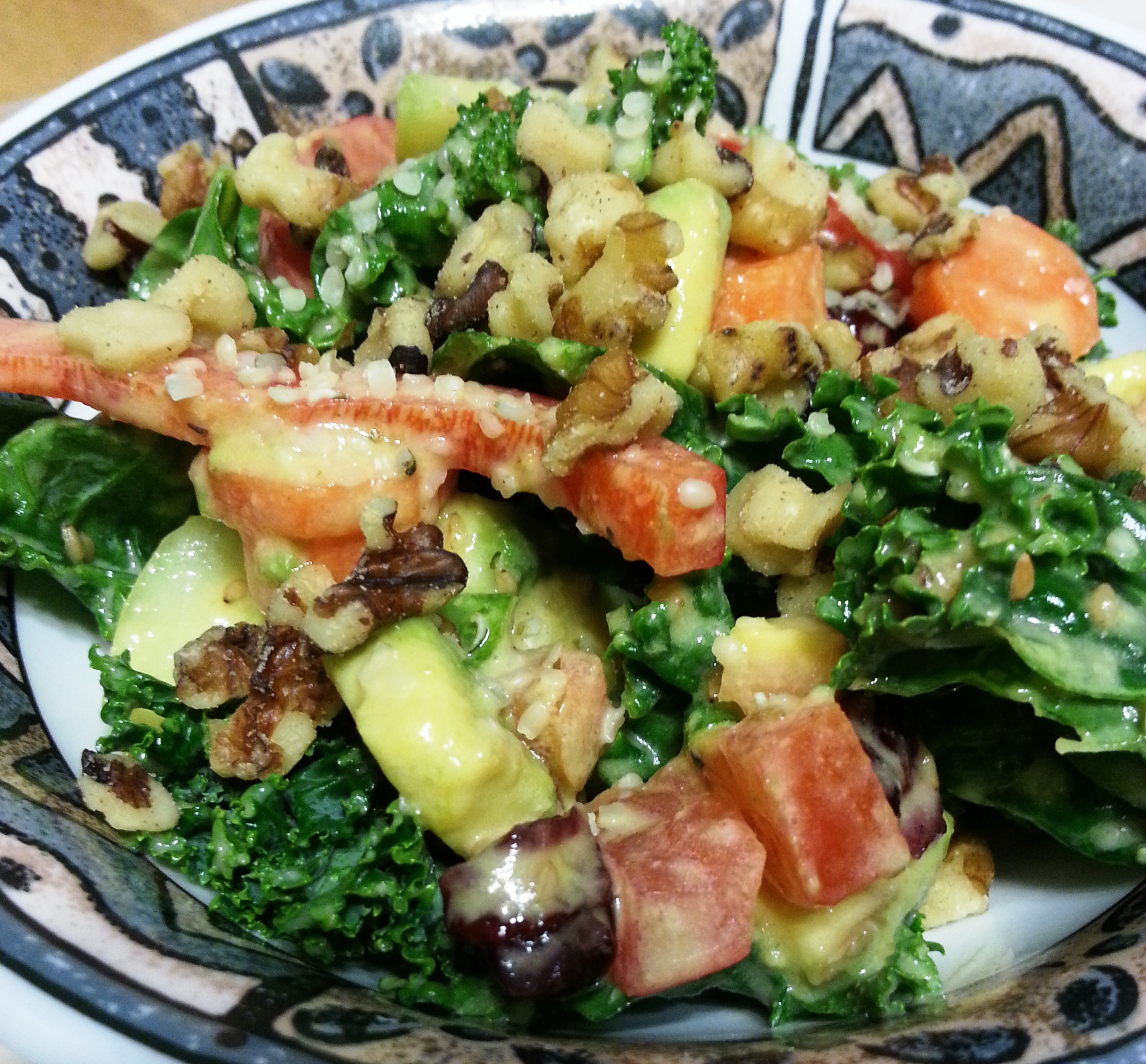 Weekend Glow Kale Salad2